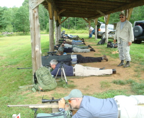 Enhanced Rifle Skills course