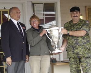 Linda wins national sniper rifle championship