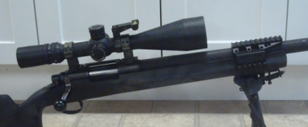 Police Sniper Rifle with NVS mount